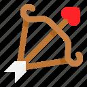 arrow, bow, love, romance, romantic