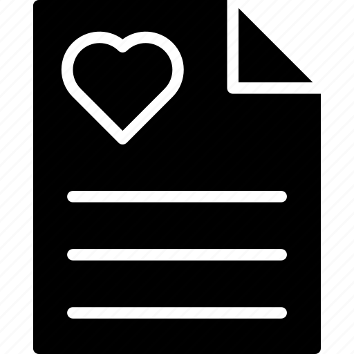 envelope, letter, love letter, valentine greeting icon