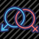 female gender, gender sign, gender symbols, male gender icon