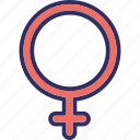 female, gender, male, sexuality symbol icon