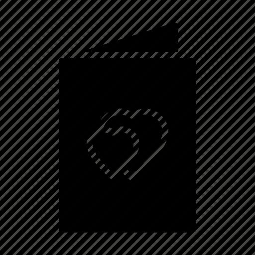 favorite, letter, like, lovecard, romance icon