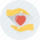 care, hand gesture, love, loving, valentine icon