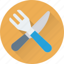 banquet, dining, fork, kitchen, knife icon