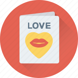 love card, love letter, love message, valentine greeting, valentine wishes icon