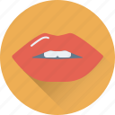 kiss, lips, mouth, smile, woman lips icon