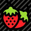 fruit, love, romance, romantic, strawberry