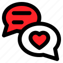 chat, love, romance, romantic, talk