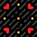 explosion, firework, love, party, romance, romantic icon