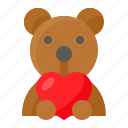 doll, love, romance, romantic, teddy bear, toy