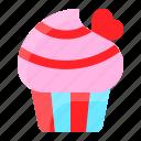cake, cupcake, love, romance, romantic, sweets