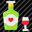 beverage, champagne, love, romance, romantic, wine