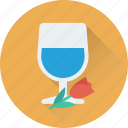 champagne glasses, cheers, glass, heart, wine glass icon