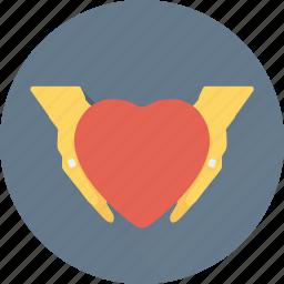 care, donation, hand gesture, love, valentine icon