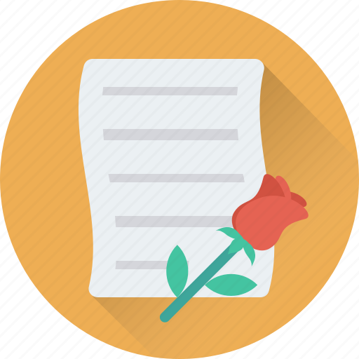 flowers, in love, proposal, romantic, rose icon