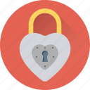 lock, padlock, privacy, romantic, secret icon