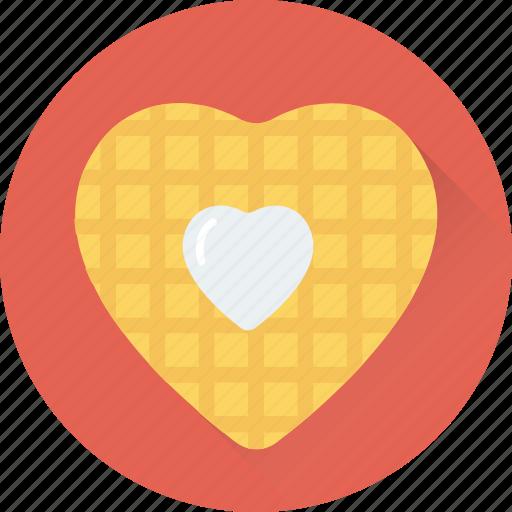 biscuit, cookies, dessert, heart, heart cookies icon