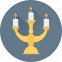 candle holder, candlelight, candlelight dinner, candles, light icon