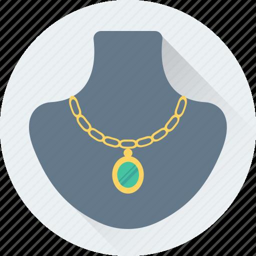 jewellery display, jewelry, jewelry showcase, necklace, showcase icon