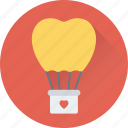 birthday balloons, decorations, heart balloon, party, party decorations icon
