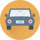 car, couple car, long drive, travel, vehicle icon
