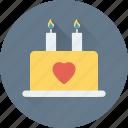 cake, dessert, food, valentine cake, wedding cake