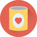 dating, heart, jar, love, romance icon