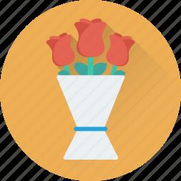 bouquet, event, floral, flower bouquet, flowers icon