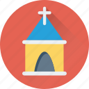 abbey, building, chapel, church, temple icon