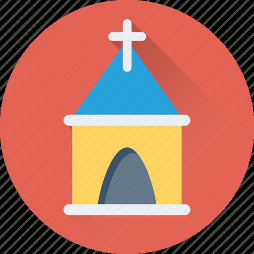 abbey, building, chapel, church, temple icon