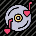 love, song, valentine, romance, wedding, vinyl, sound
