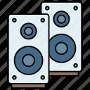 advertisement, announcement, audio, buffers, loudspeaker, multimedia, speaker