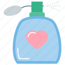 love cosmetics, lovely perfume, marriage gift, perfume, romantic gift, wedding gift icon