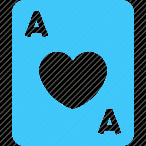 card, casino, hearts, love, playingxard, poker, suit icon