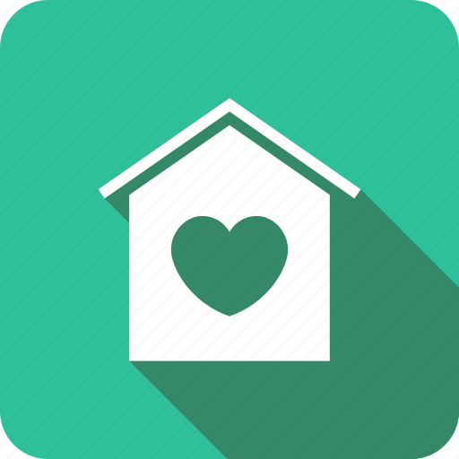 happyhome, heart, home, house, love, sweet icon