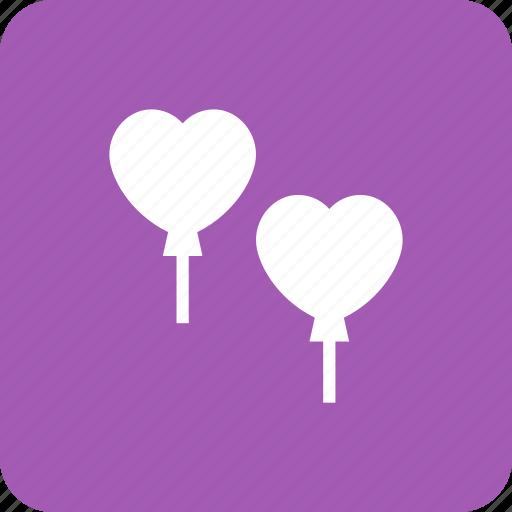 Balloon, baloon, heart, love, romantic, valentine icon - Download on Iconfinder