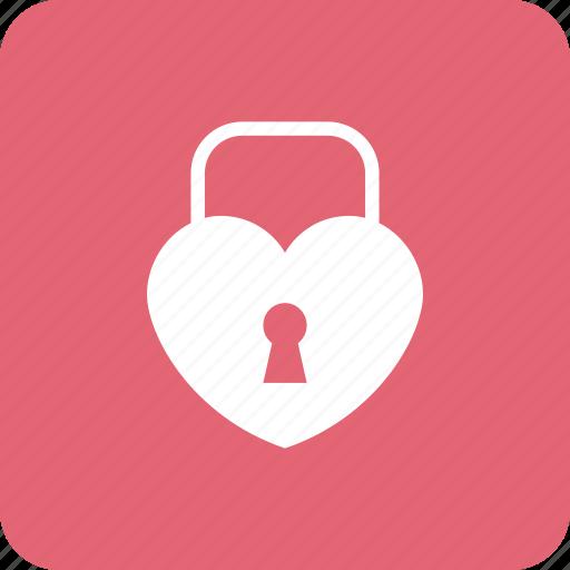 Heart, key, lock, love, loving, romance, wedding icon - Download on Iconfinder