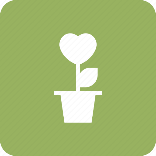 Heartflowers, love, loveconcept, plant, romantic icon - Download on Iconfinder
