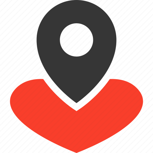 heart, heartlocator, heartpin, lovepin, lovesymbol, romance icon