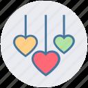 decoration, heart, kid, love, romantic, toys, valentine icon