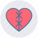 broken, broken heart, dating, heart, hurt, love, pain icon