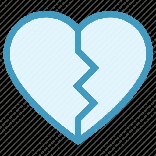 Breakup, broken heart, dating, heart, hurt, love, relationship icon - Download on Iconfinder