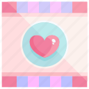 heart, love, movie, valentine icon
