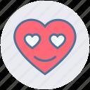 heart, in love, love, romantic, special, valentine, valentines icon