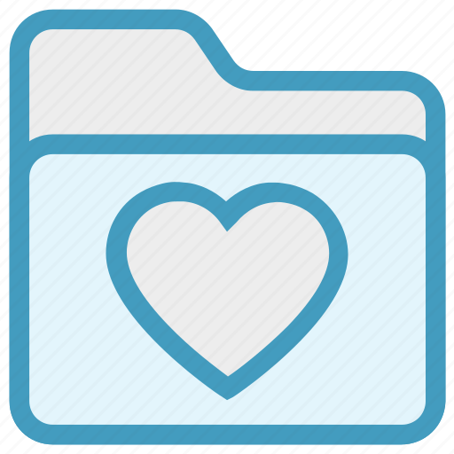 Archive, bookmark, favorites, folder, heart, love, valentine icon - Download on Iconfinder