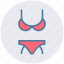 bikini, clothes, fantasy bikini, pantie, string bikini, underwear, woman