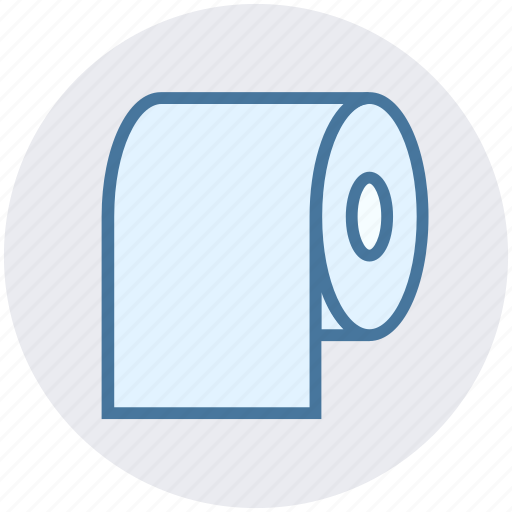 cleaning paper, hygiene, paper, roll, tissue, tissue paper, tissue roll icon