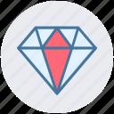 brilliant, diamond, gem, jewelry, luxury, ruby icon