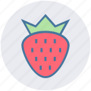 berry, food, fruit, healthy, nutrition, strawberry, sweet icon