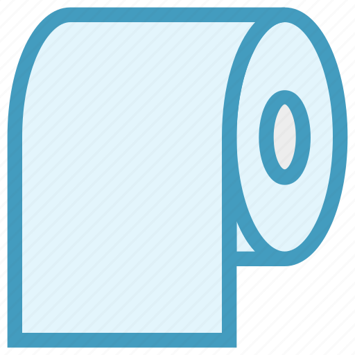 Cleaning paper, hygiene, paper, roll, tissue, tissue paper, tissue roll icon - Download on Iconfinder