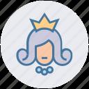 avatar, beauty, princess, princess crown, queen, wedding, woman